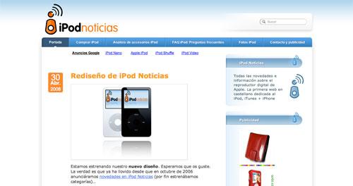 iPod Noticias