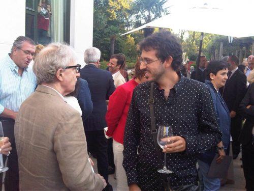 Woody Allen y Jorge