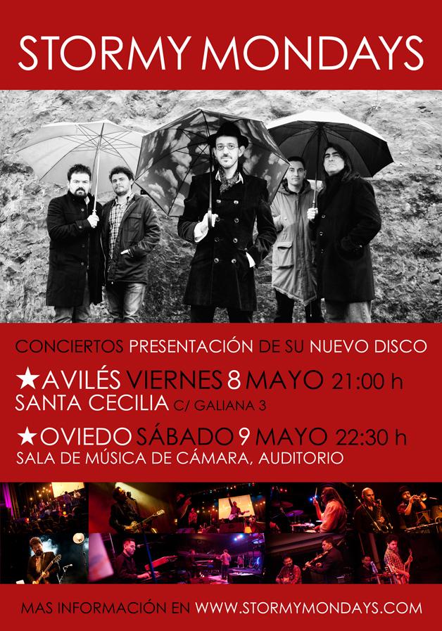 Presentando en directo nuestro nuevo disco en Avilés y Oviedo