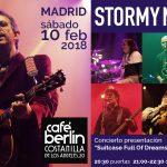 Concierto en Madrid: sábado 10 de febrero en Café Berlín