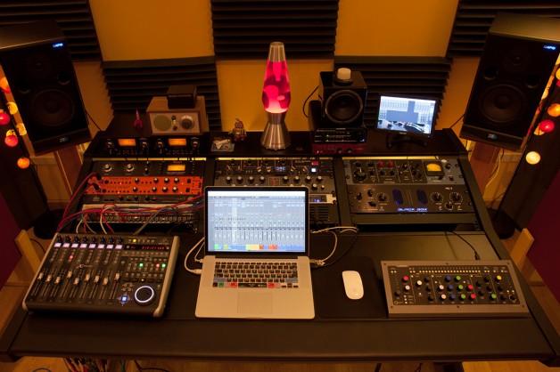El disco y nuestro estudio de grabación