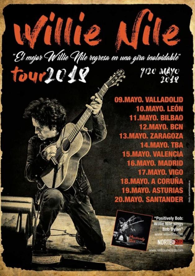 De gira con Willie Nile por España