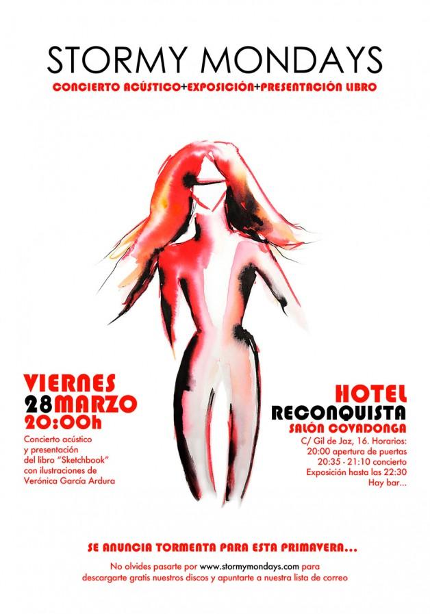Acústico y exposición en el Hotel Reconquista